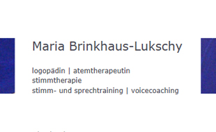 Logo von Brinkhaus-Lukschy Maria