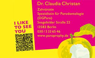 Christan, Claudia, Dr. - Zahnärztin