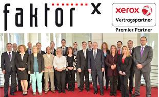 Logo von Faktor X Xerox Vertragspartner Schröter e. K.