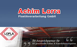 Logo von Lorra-Plastik GmbH - Plastikverarbeitung