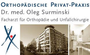 Surminski, Oleg, Dr. med., Facharzt für Orthopädie und Unfallchirurgie