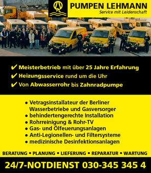 Bild 1 Pumpen Lehmann GmbH in Berlin