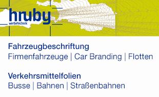 Logo von Hruby Werbetechnik GmbH