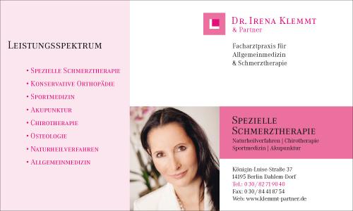 Logo von Klemmt Irena Dr. med.