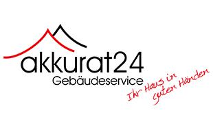 Logo von Akkurat 24 Gebäudeservice