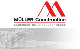 Logo von MÜLLER-Construction GmbH - Montageunternehmen