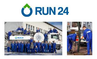 Logo von RUN 24 GmbH - Rohrreinigung - Umweltservice - Notdienst