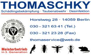 Thomaschky Schädlingsbekämpfung