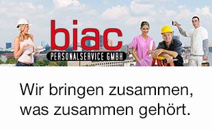 Logo von BIAC Personalservice GmbH