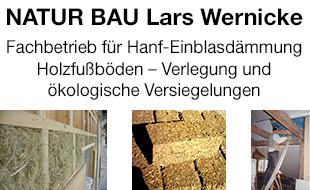 NATUR BAU Lars Wernicke Naturbaustoffhandel+Fachbetrieb für Hanf-Einblasdämmung