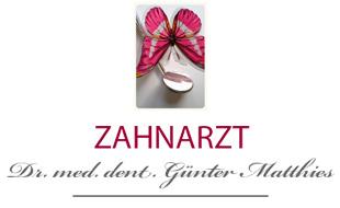 Logo von Matthies Günter Dr. med. dent.