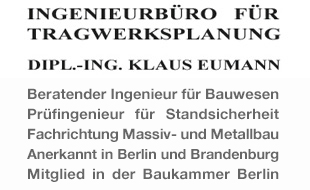 IFT Ingenieurbüro für Tragwerksplanung, Dipl.-Ing. Klaus Eumann
