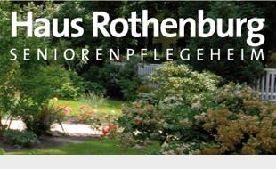 Logo von Haus Rothenburg Seniorenpflegeheim