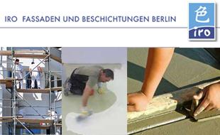 Logo von IRO Fassaden und Beschichtungen Berlin GmbH