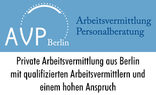 AVP Berlin Arbeitsvermittlung & Personalberatung Dr. Blisse