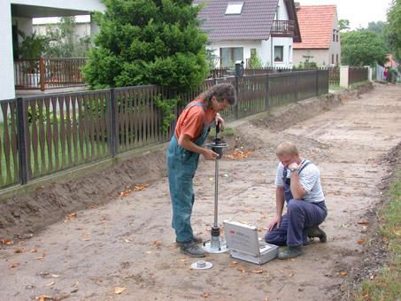 Bild 5 Baugrundbüro Wenzel - Baugrunderkundung Baugrundgutachten Gründungsberatung in Frankfurt (Oder) Berlin