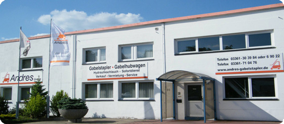 Andres GmbH -Verkauf - Vermietung - Service - Fahrerschulung
