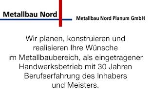 Bild zu Metallbau Nord Planum GmbH in Berlin