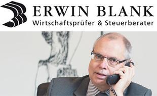 Logo von Blank, Erwin - Wirtschaftsprüfer + Steuerberater