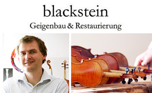 Logo von blackstein | Geigenbau & Restaurierung