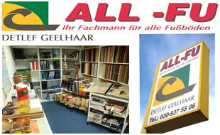 Logo von All-Fu Ihr Fachmann für alle Fußböden, Inh. Detlef Geelhaar
