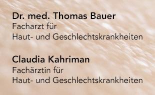 Bauer, Thomas, Dr. med. und Claudia Kahriman