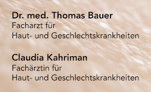 Bauer, Thomas, Dr. med. und Claudia Kahriman