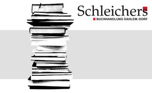 Logo von Schleichers Buchhandlung - Dahlem-Dorf