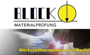 Bild zu Block Materialprüfungsgesellschaft mbH in Berlin
