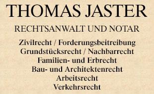Logo von Jaster Thomas