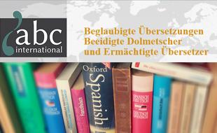 abc international - Übersetzungsbüro