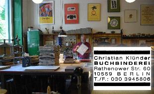Logo von Klünder Buchbinder Christian