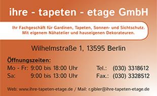 Ihre Tapeten-Etage GmbH