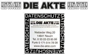 DIE AKTE - Aktenlager - Auflösungen und Datenschutzbehälter