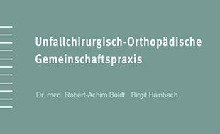 Boldt, Robert-Achim, Dr. med. und Birgit Hainbach
