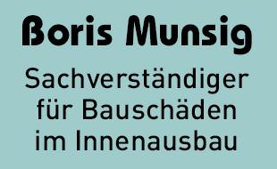 Logo von Munsig, Boris - Sachverständiger für Bauschäden im Innenausbau