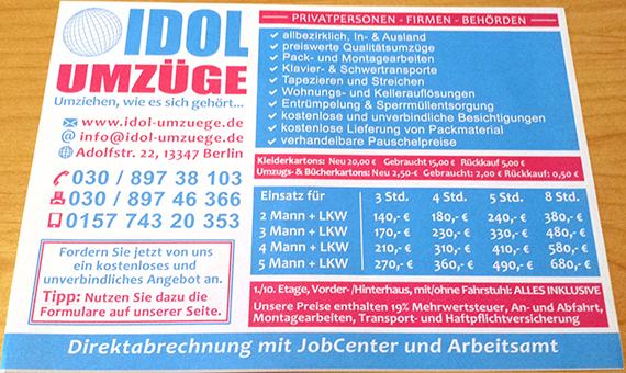 Bild 2 Idol Umzüge in Berlin