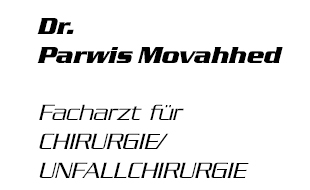 Movahhed, Parwis, Dr. med. - Facharzt für Chirurgie