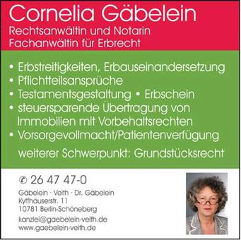 Logo von Gäbelein & Veith Rechtsanwälte