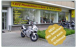 1. KFZ-Pfandleihhaus in Berlin