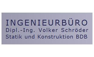 Ingenieurbüro Dipl.-Ing. Volker Schröder Statik und Konstruktion VDI