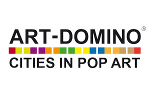 Art-Domino® Cities in Pop-Art by Sabine Welz Städte-Galerie im Europa-Center