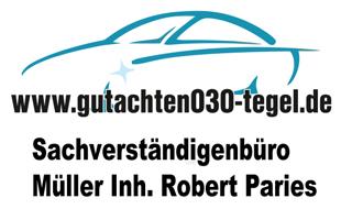 Logo von Sachverständigenbüro Müller, Inh. Robert Paries