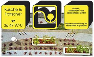 Kusche & Frotscher Garten-, Landschafts- und Sportplatzbau GmbH