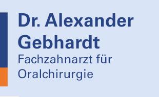 Logo von Gebhardt Alexander Dr. med. dent.