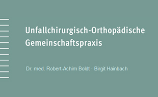 Bild zu Boldt, Robert, Dr. med. und Birgit Hainbach in Berlin