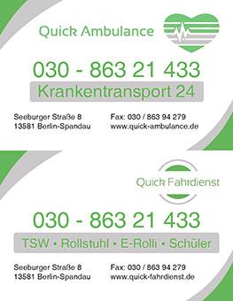 Logo von Quick Ambulance GmbH