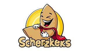 Logo von Scherzkeks - Kekse zum Lachen und Naschen