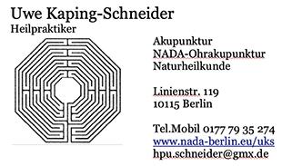 Bild zu Kaping-Schneider Uwe in Berlin