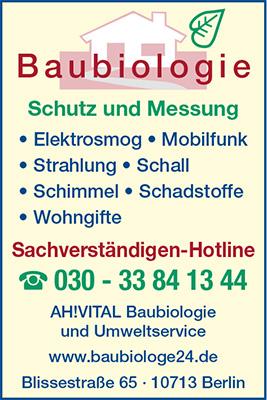 AH!Vital - Baubiologie & Umweltservice